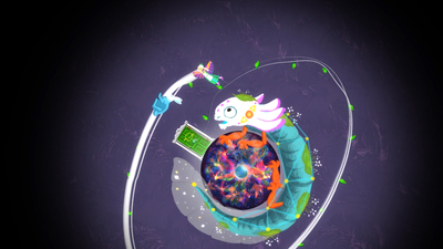 Gravity Ghost Deluxe Edition Screenshot 1