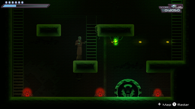 Bitlogic - A Cyberpunk Arcade Adventure Screenshot 3