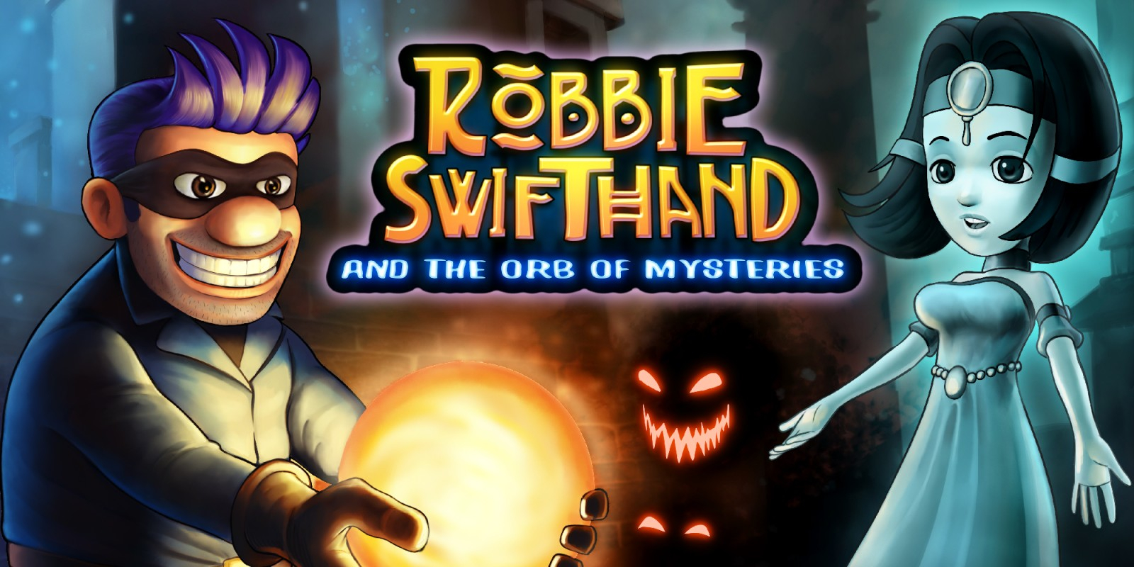 Robbie Swifthand and the Orb of Mysteries Masthead
