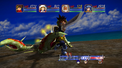 GRANDIA HD Collection Screenshot 2