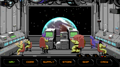 Hyperspace Delivery Service Screenshot 1