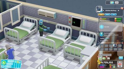 Two Point Hospital: Close Encounters Screenshot 4