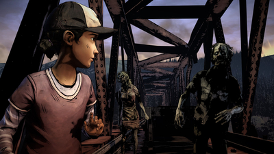 The Walking Dead: The Telltale Definitive Series Screenshot 1