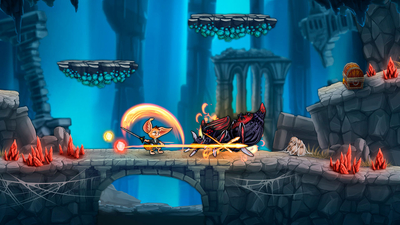 Fin and the Ancient Mystery Review Screenshot 1