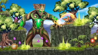 Fin and the Ancient Mystery Review Screenshot 2