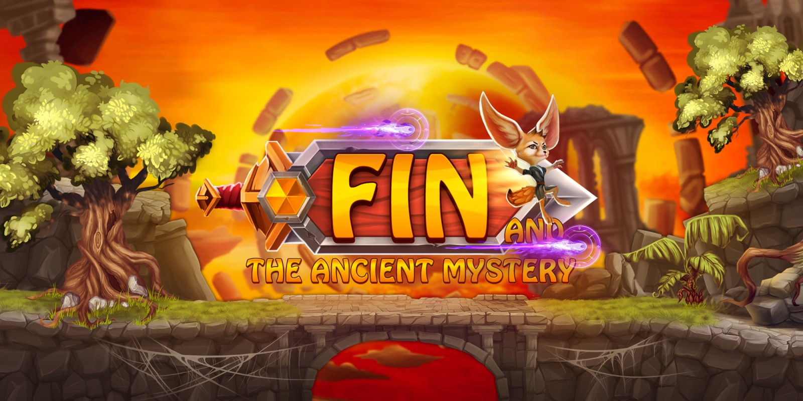 Fin and the Ancient Mystery Review Masthead