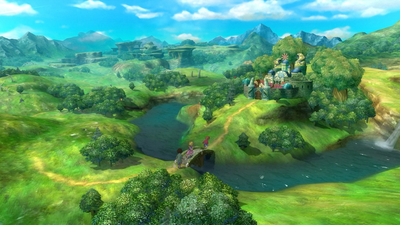 Ni no Kuni: Wrath of the White Witch Remastered Masthead