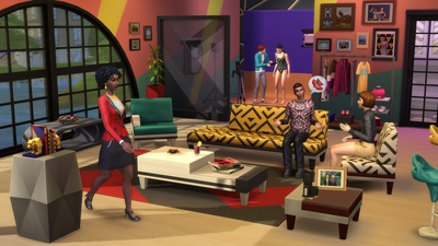 The Sims 4 - Moschino Stuff Pack Screenshot 2