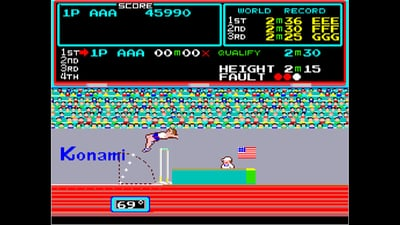 Arcade Archives TRACK & FIELD Screenshot 6