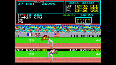 Arcade Archives TRACK & FIELD Screenshot 4