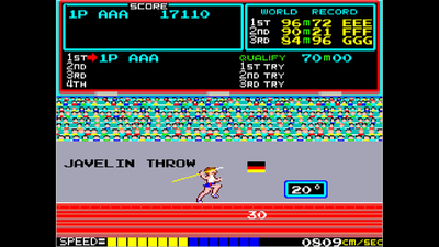 Arcade Archives TRACK & FIELD Screenshot 3