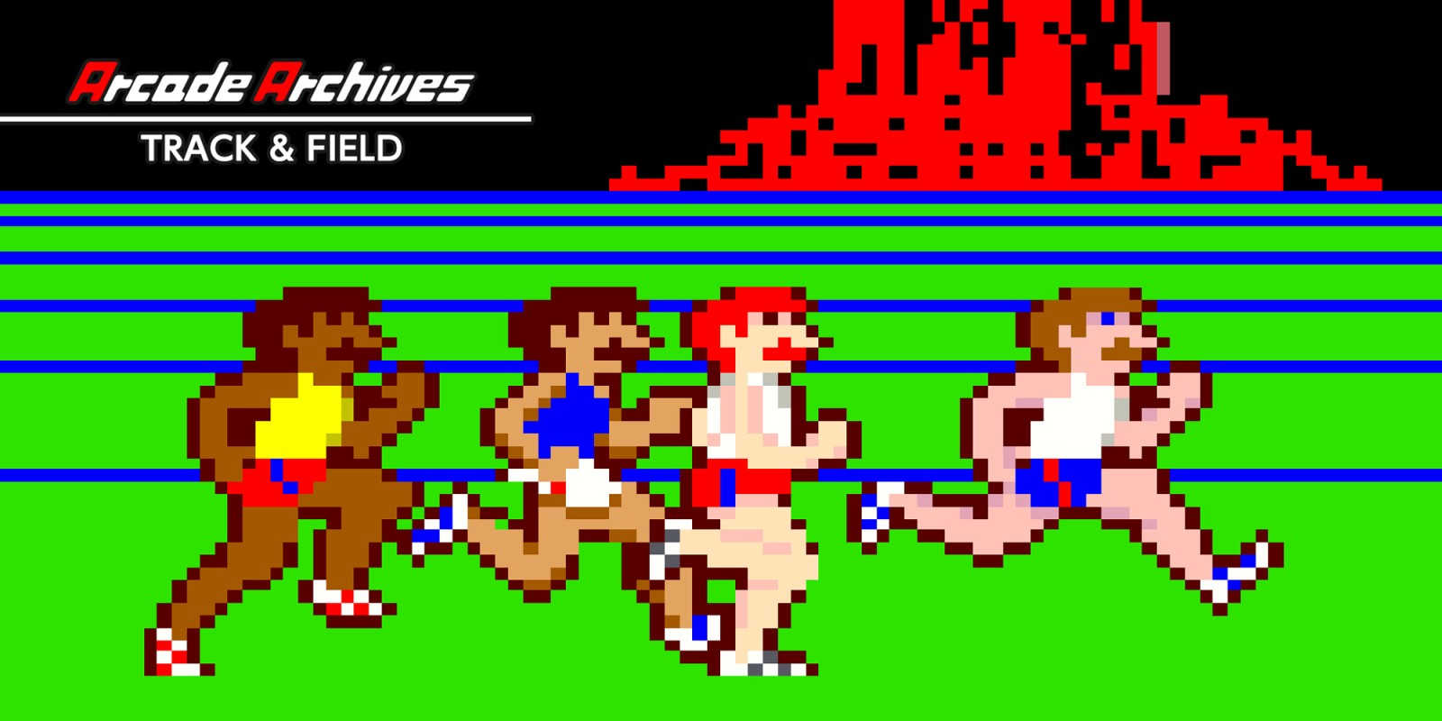 Arcade Archives TRACK & FIELD Masthead