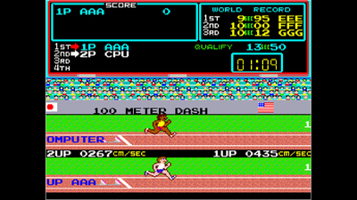 Arcade Archives TRACK & FIELD Screenshot 1