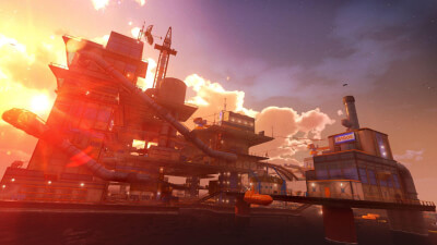 Sunset Overdrive and the Mystery of the Mooil Rig! Screenshot 1