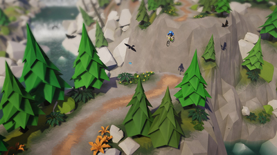 Lonely Mountains: Downhill Screenshot 2