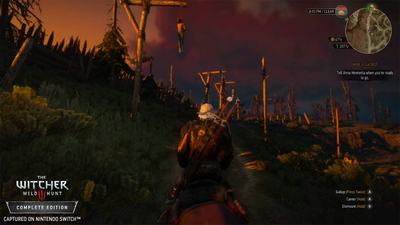 The Witcher 3: Wild Hunt - Complete Edition (Switch) Screenshot 1