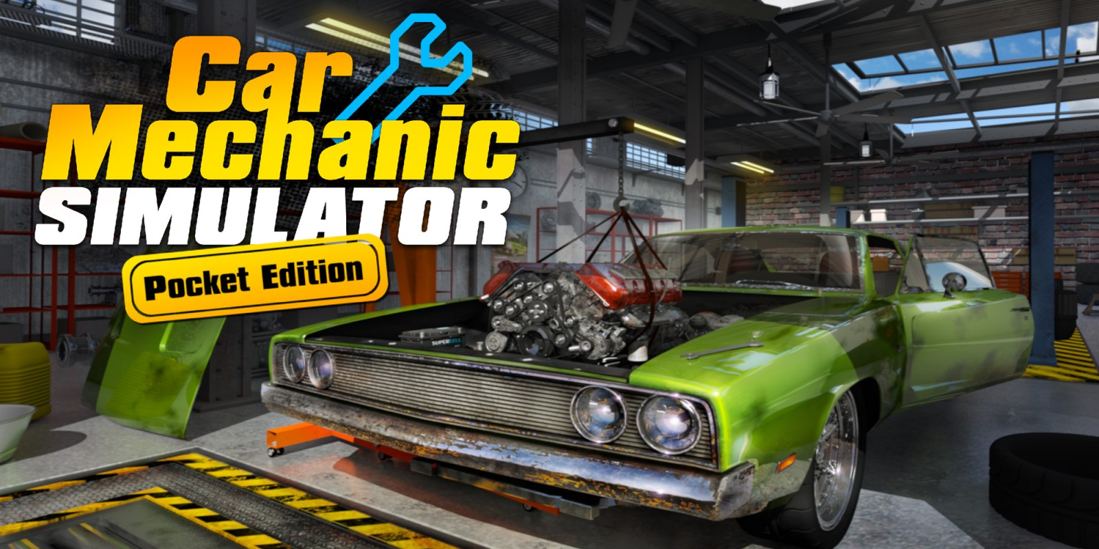 Car Mechanic Simulator Pocket Edition Masthead