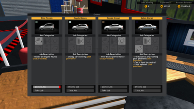 Car Mechanic Simulator Pocket Edition Screenshot 1