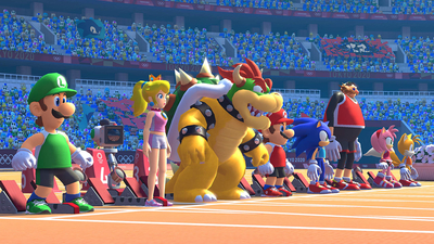 Mario & Sonic at the Tokyo 2020 Olympic Games Masthead
