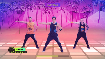 Zumba: Burn it Up! Screenshot 2