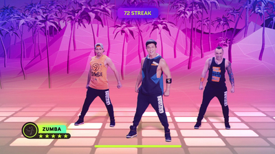 Zumba: Burn it Up! Screenshot 1
