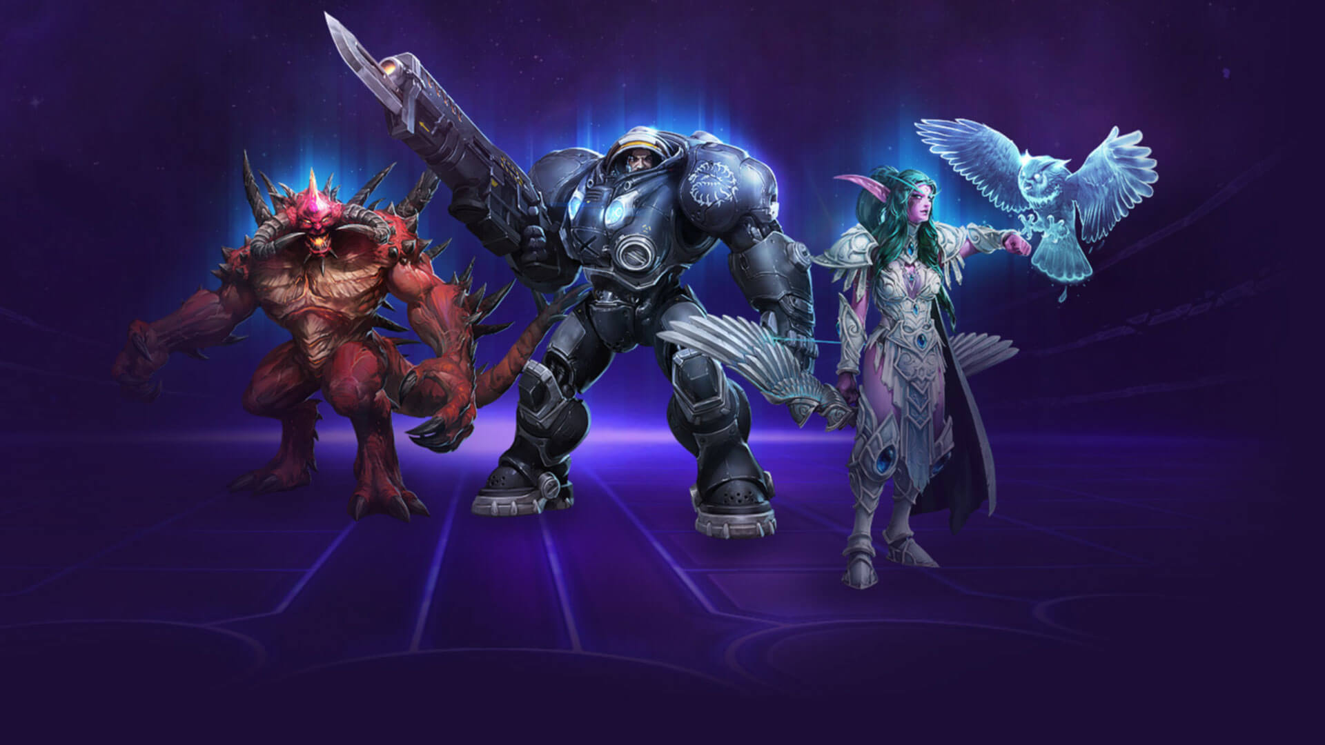 Heroes of the Storm Masthead
