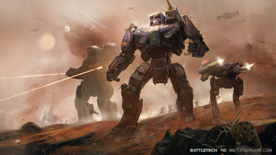 "BattleTech starting out ""Mighty"""