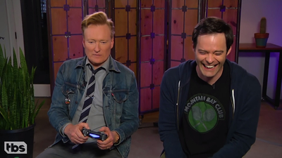 Conan O'Brien & God of War + record sales