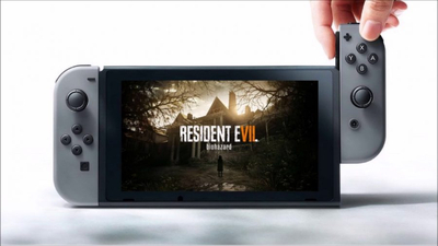 Resident Evil 7 headed to the cloud for Switch