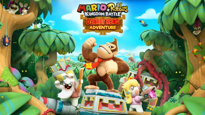 Mario + Rabids: Kingdom Battle gets its Donkey Kong DLC this June