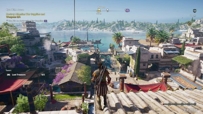 Assassin's Creed Odyssey screens leaked