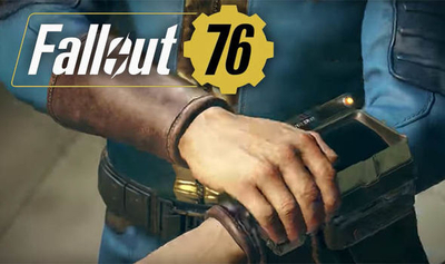 Fallout 76 is an online RPG, and it looks great
