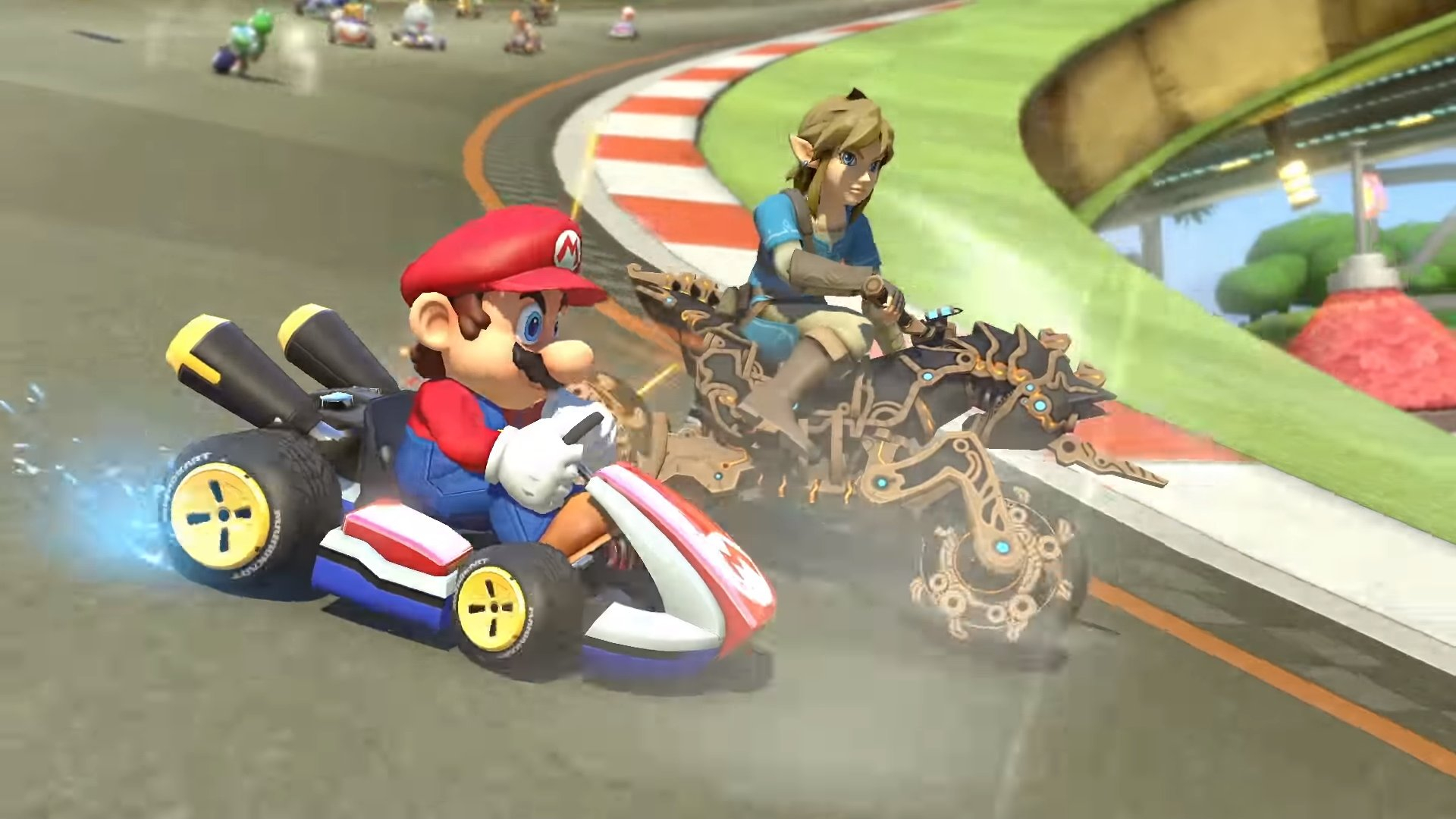 Mario Kart 8 Deluxe Gets Free Breath Of The Wild Dlc Opencritic