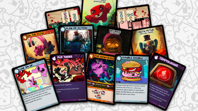 Meat Boy is hitting the table top in a new collectible card game