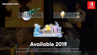 Final Fantasy XII: The Zodiac Age, FFVII, IX, X and X-2 are all coming to Switch