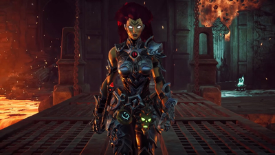 Darksiders III erupts in a ball of fire in Fury's Apocalypse trailer