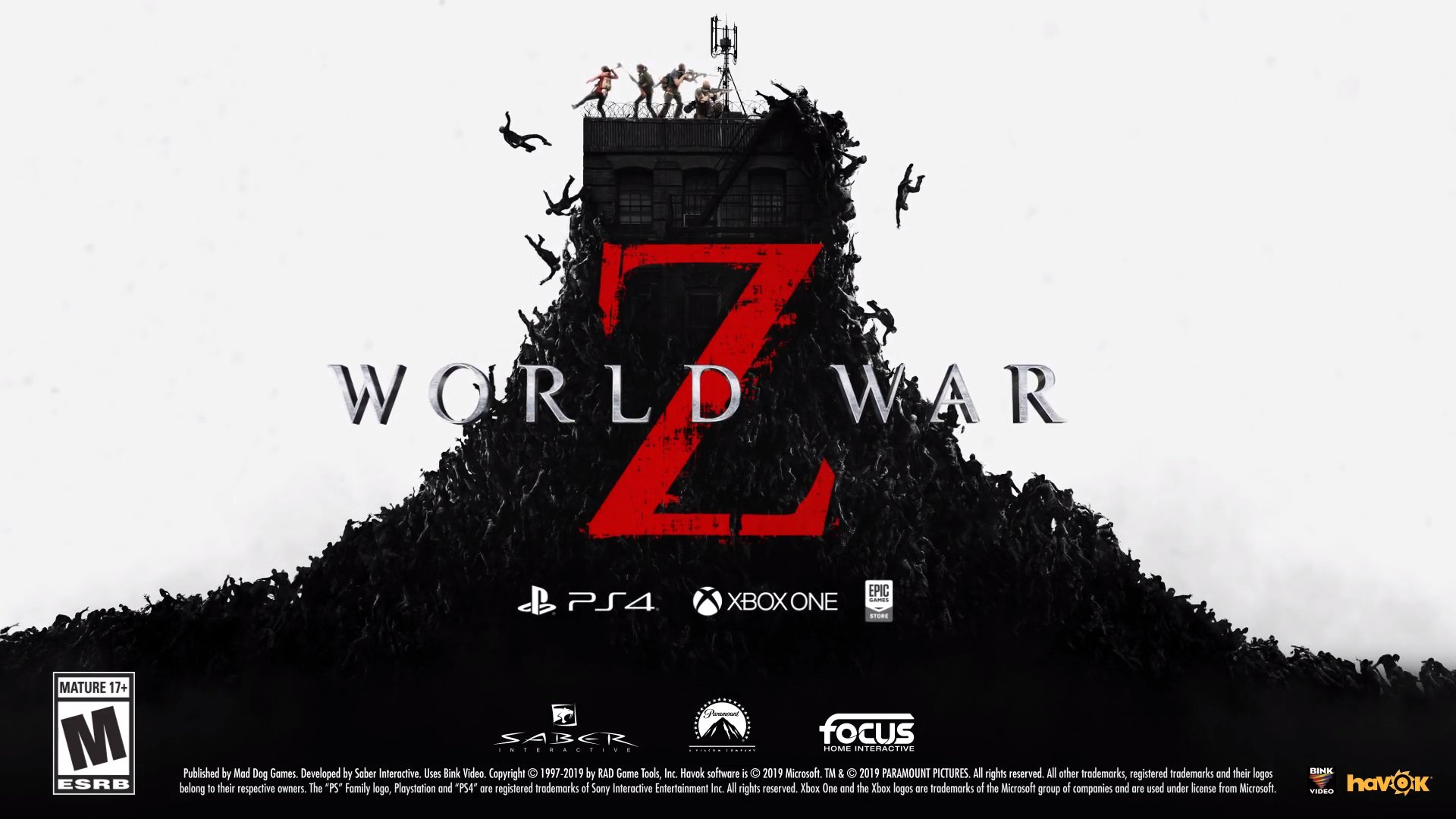 "World War Z will feature ""PvPvZ(ombies)"" multiplayer action Header Image"