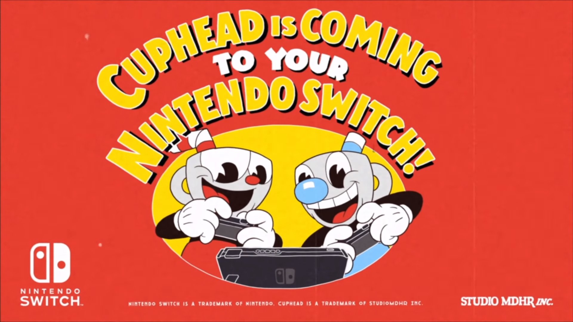 Cuphead is coming to Nintendo Switch on April 18th Header Image