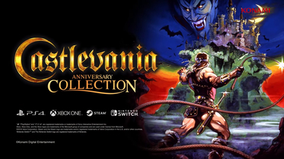 Castlevania Anniversary Collection launch day arrives