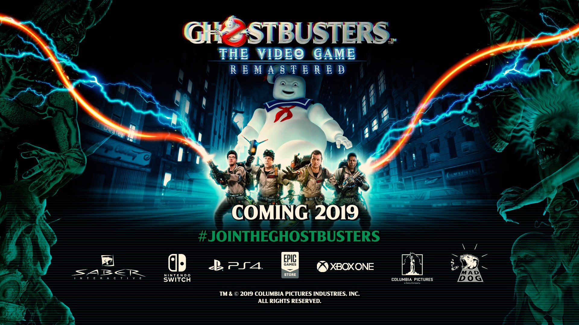 Ghostbusters: The Video Game Remaster trailer & announcement Header Image