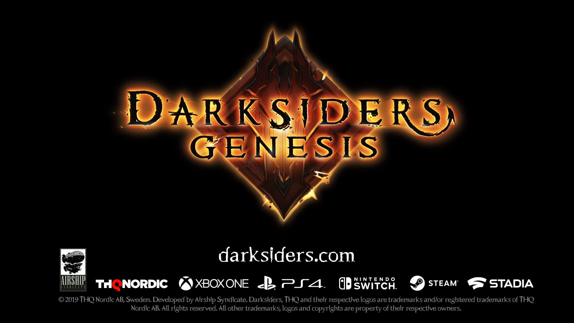 Darksiders Genesis announced with new trailer Header Image