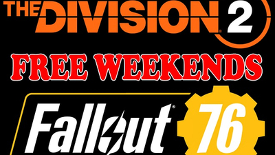 Play The Division 2 & Fallout 76 for free during special events Thumbnail