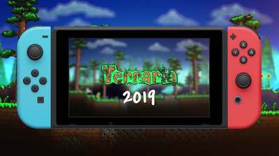 Terraria to launch on Switch later today Thumbnail