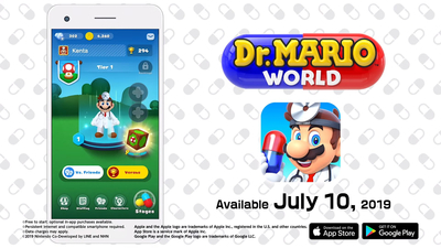 Connect with friends in Dr. Mario World Thumbnail