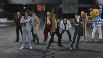 Yakuza Kiwami 2 comes out on Steam next month