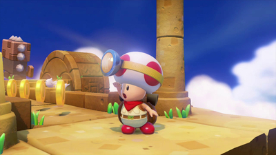 Labo VR Update Puts You Inside Four Captain Toad: Treasure Tracker Levels