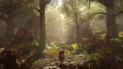 How one person created the lushly organic world of Ghost Of A Tale