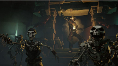 Sea of Thieves is now haunted by spooky skeletons for Halloween
