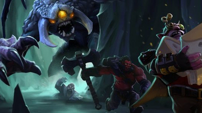 Dota 2's Underhollow battle royale mode sounds cheesy