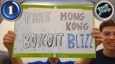 Blizzard Bans Collegiate Hearthstone Players for Six Months Over Protest Sign